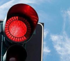 Светофор красный