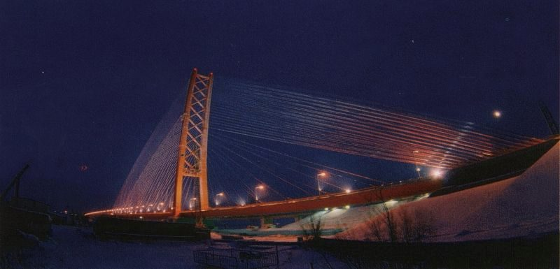 мост, сургут, авто