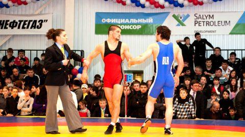 Международный турнир по вольной борьбе