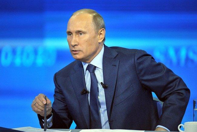 Путин, фото пресс-службы Президента России