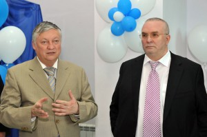 Анатолий Карпов и Владимир Семёнов