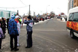 Эстафета олимпийского огня в Ханты-Мансийске: инструктаж