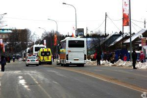 Эстафета олимпийского огня в Ханты-Мансийске: