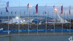Многонациональный олимпийский состав традиционно представлен флагами. А ты нашёл флаг своей страны?