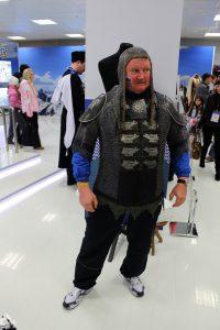 В образе. Александр Козлов, ответственный за сборную Нефтеюганского района среди лиц с ограниченными физическими возможностями