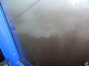 Густой сочинский туман