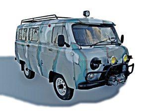полноприводные автомобили, внедорожники, машины для охоты, УАЗ, буханка