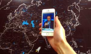 Владимир Путин, айфон