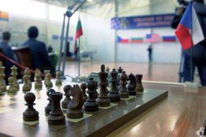 шахматы, флажки
