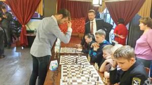 XV шахматный турнир имени Анатолия Карпова, сеанс одновременной игры