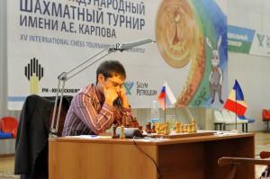 XV шахматный турнир имени Анатолия Карпова: Дмитрий Яковенко