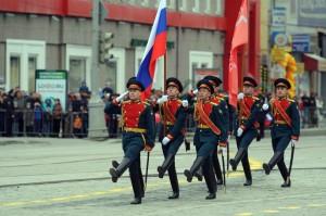 Парад Победы. Екатеринбург