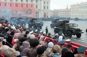 Парад Победы. Санкт-Петербург