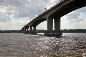 Волга, мост через реку