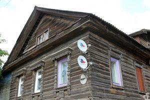 Кострома, наличники, деревянное зодчество