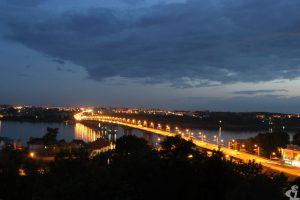 Кострома, мост через Волгу