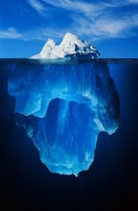айсберг, лёд