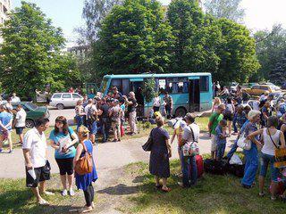 беженцы, Украина