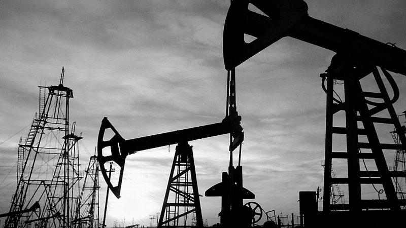 нефть, качалки, добыча нефти