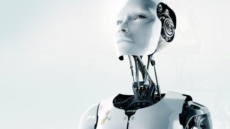 киборг, робот