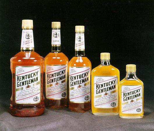 виски в бутылках