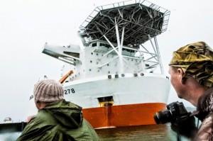 """Китайское судно """"Hai Yang Shi You"""" перевезет в Приморье на завод """"Звезда"""" АПЛ К-442 «Челябинск» (проект 949 А, заводской №638)"""