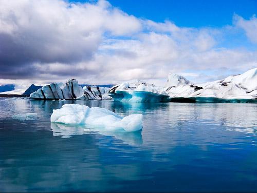 север, лёд, потепление