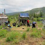 Становище оленеводческой бригады - точка встречи современности и вековых традиций