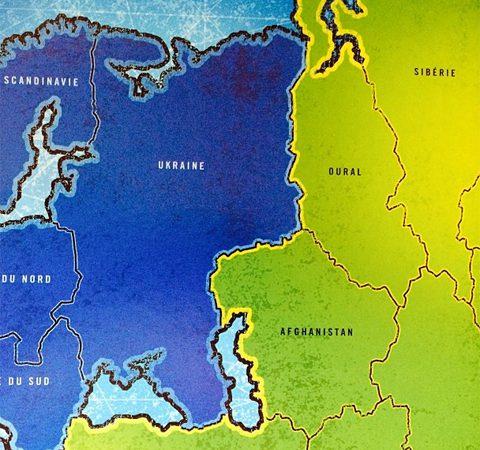 Карта без России