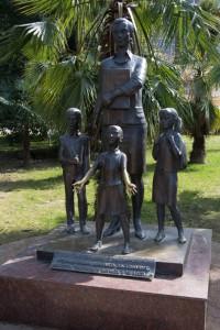 Памятник учителю в Сочи