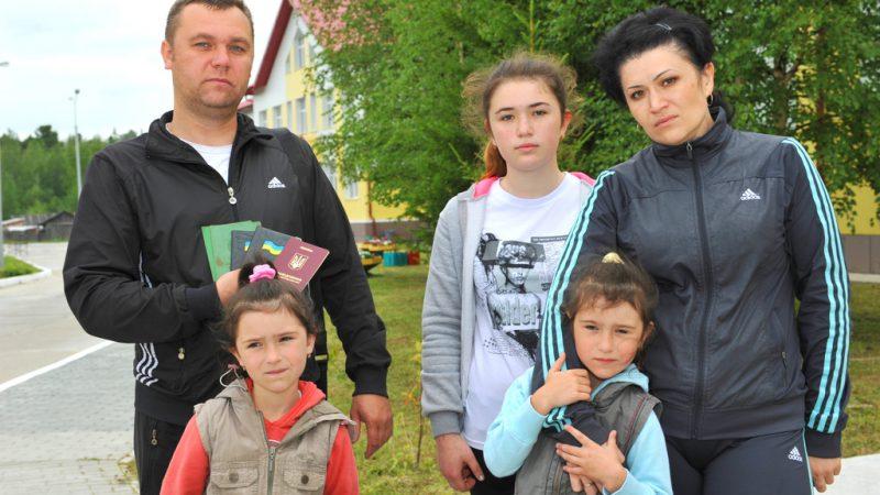 украинцы, югра, беженцы