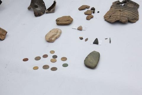 археологические находки на берегах Енисея