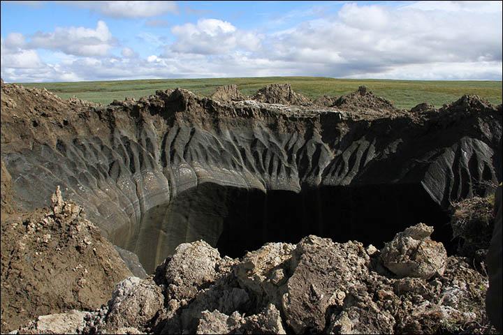 провал грунта на Ямале