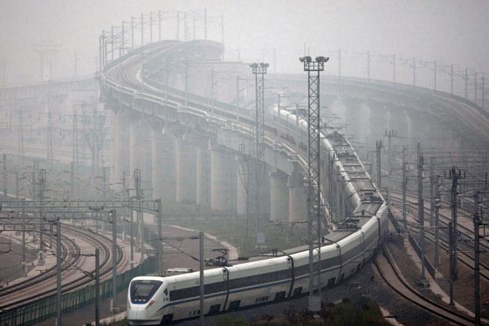 высокоскоростная железная дорога в Китае