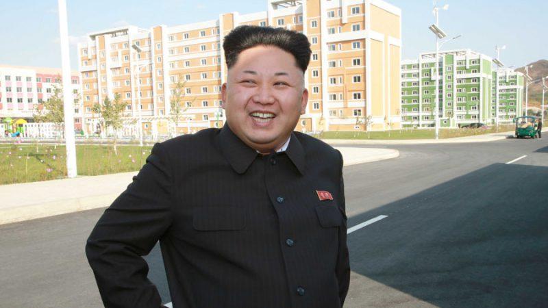 Ким Чен Ын впервые появился на публике