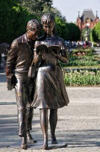 Памятник студентам
