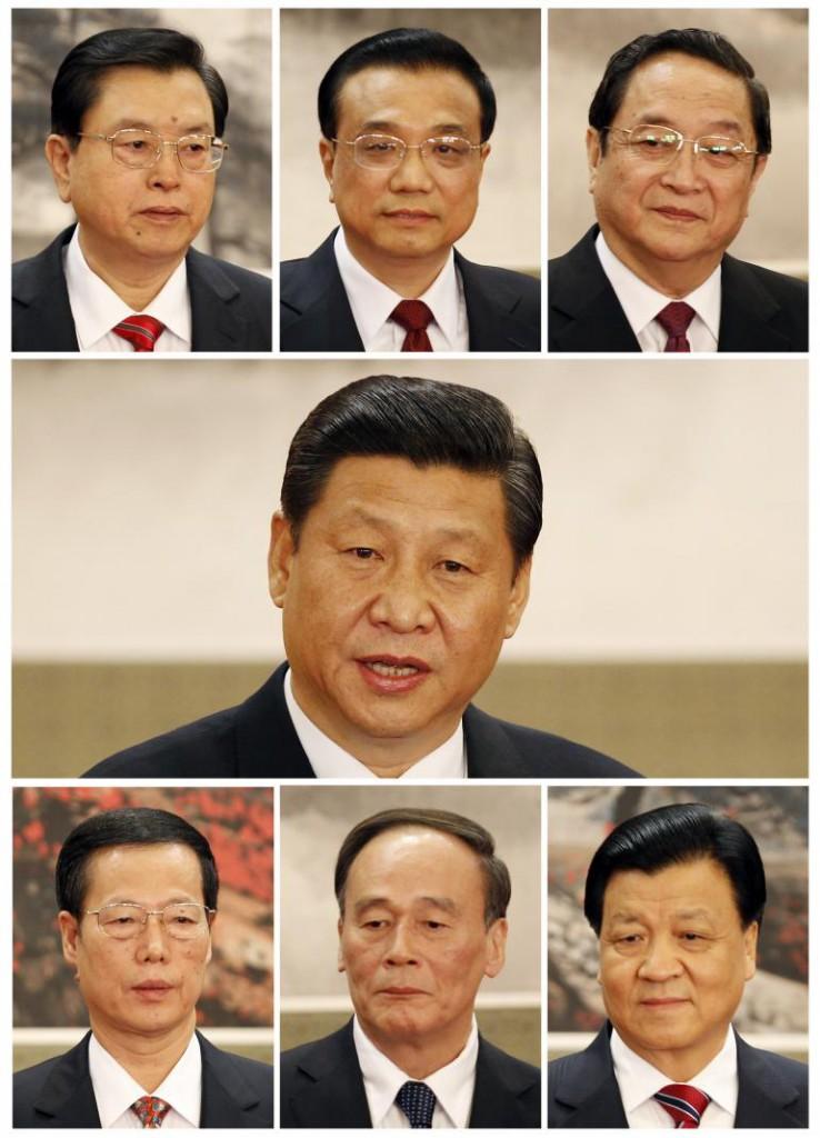 китайские лидеры