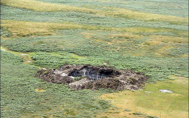 провалы грунта в Сибири