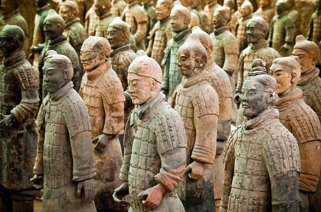 Китай. глиняная армия