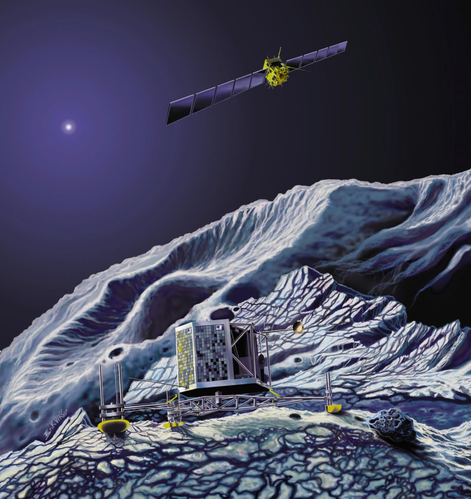 зонд Розетта и комета Чурюмова-Герасименко