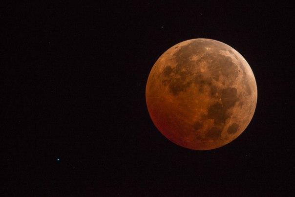 ззатмение кровавой Луны