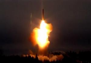пуск ракеты Тополь-М