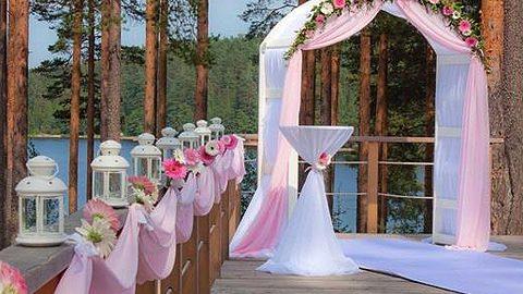 выездная свадьба алтарь