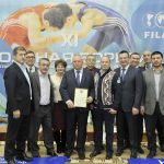 THE INTERNATIONAL FREESTYLE WRESTLING TOURNAMENT FOR THE SEMENOV'S CUP