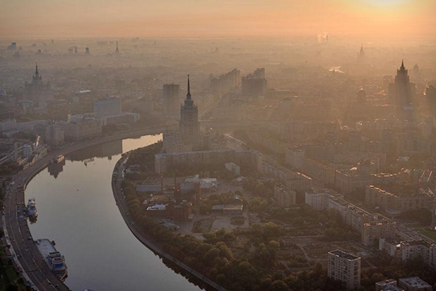 запах над Москвой