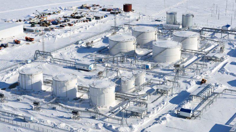 Как строится порт Сабетта и завод Ямал СПГ