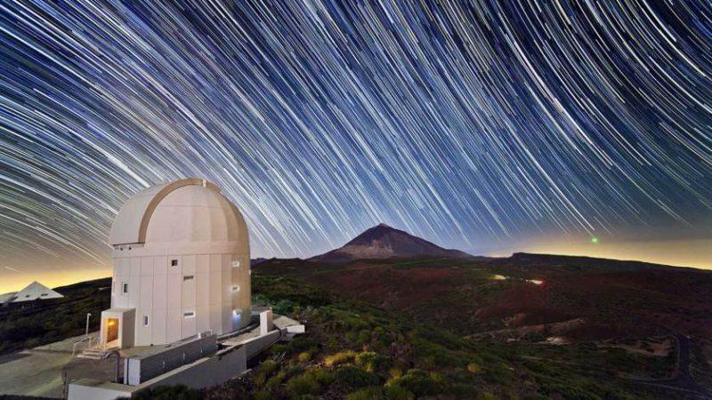 Телескоп в обсерватории Тейде на Канарских островах