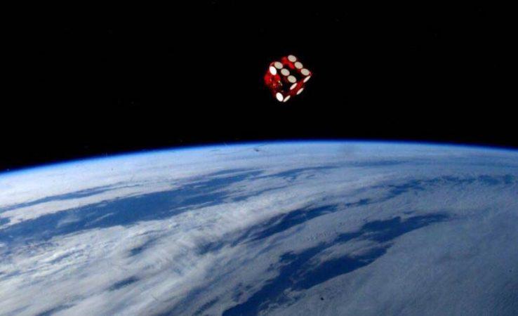 Фотография космонавта Рейда Вайсмана, опубликованная в твиттере