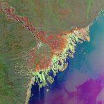 Дельта Волги, Астрахань и северная часть Каспийского моря