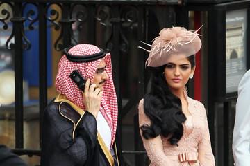 Талал с супругой